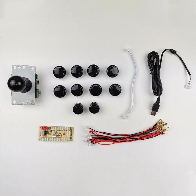 kit-joystick-botones-estilo-sanwa-negro