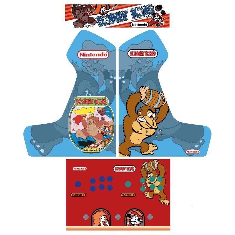 Vinilo donkey kong arcade bartop