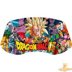 vinilo para panel arcade dragon ball super