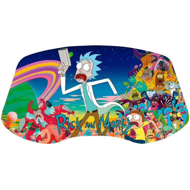 vinilo panel arcade rick y morty