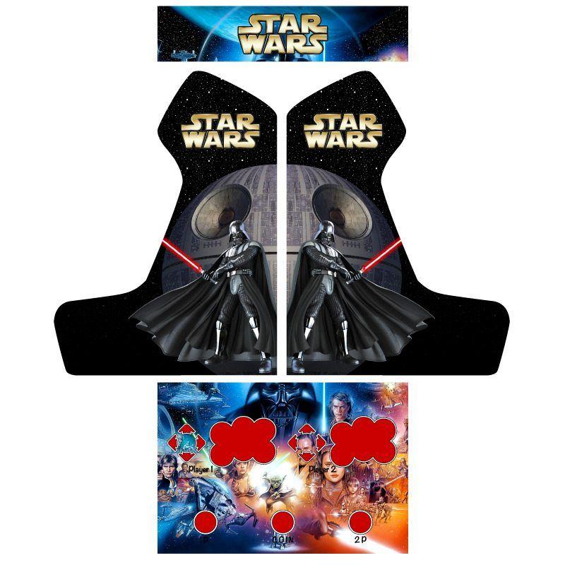 Vinilos star wars bartop
