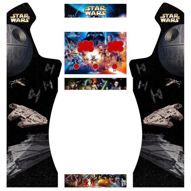 Vinilos star wars pedestal premium