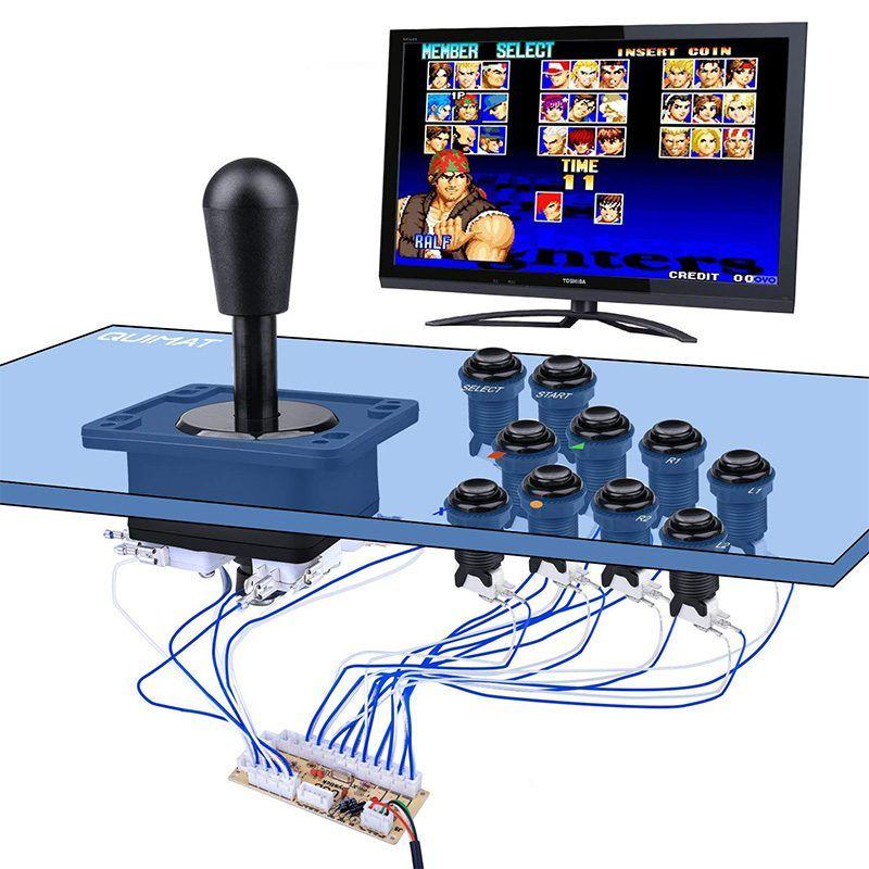 kit-joystick-americano-con-interfaz-usb-conectados