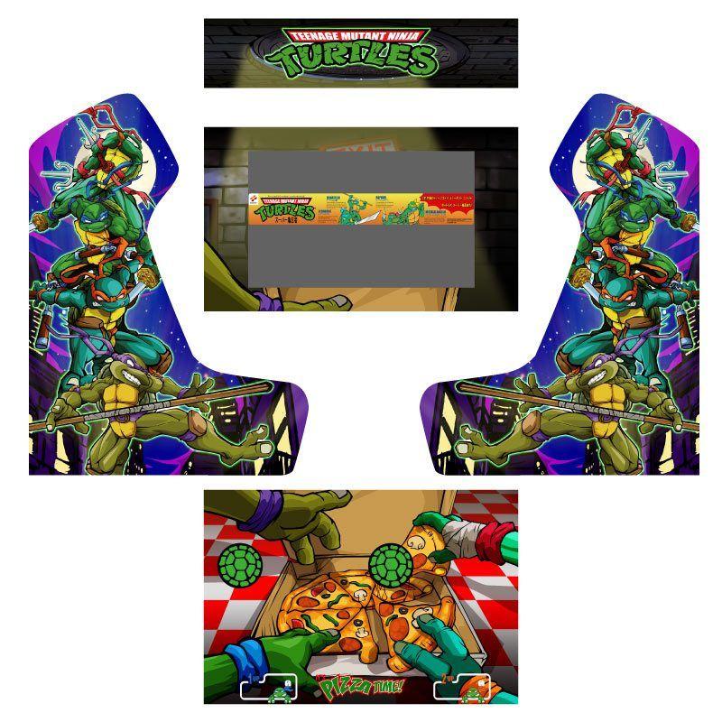 Vinilos Tortugas ninjas arcade