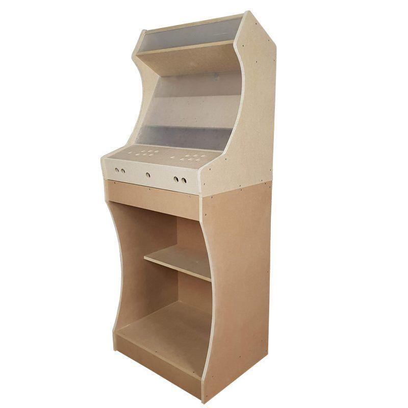 Maquina arcade bartop king con pedestal