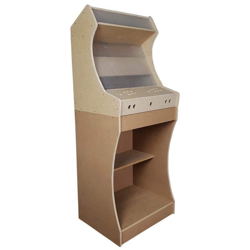 Maquina arcade bartop king con pedestal2