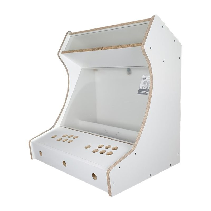 Arcade machine king bartop melamine white