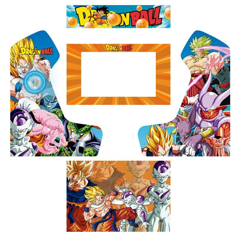 Vinyl dragon ball z bartop premium