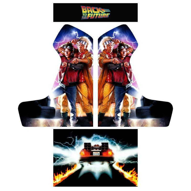 Vinyl back to the future bartop premium