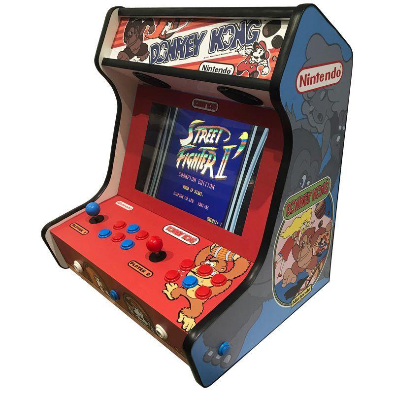 Máquina arcade bartop donkey kong