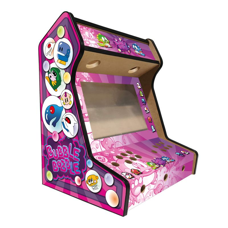left-side-premium-bartop-bubble-bobble-pink-vinyl