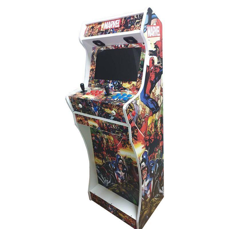 vinilos-marvel-maquina-arcade