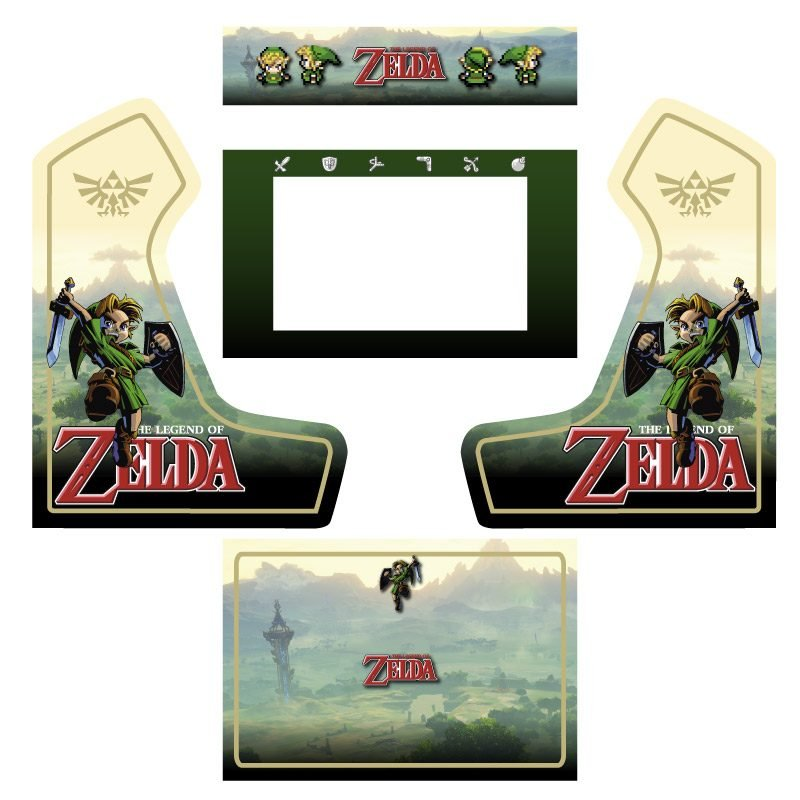 Vinyle Zelda bartop premium