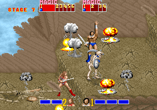 Arcade Golden Axe