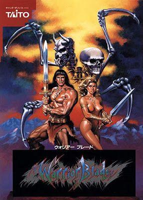 Portada videojuego Arcade Warrior Blade Rastan Saga Episode III