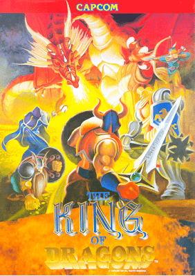 Portada videojuego The King of Dragons