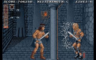 Videojuego Sword of Sodan - Amiga