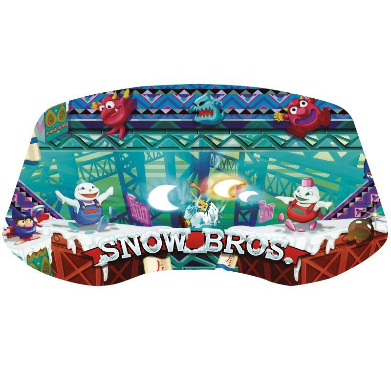 vinilo-snow-bros-panel-arcade