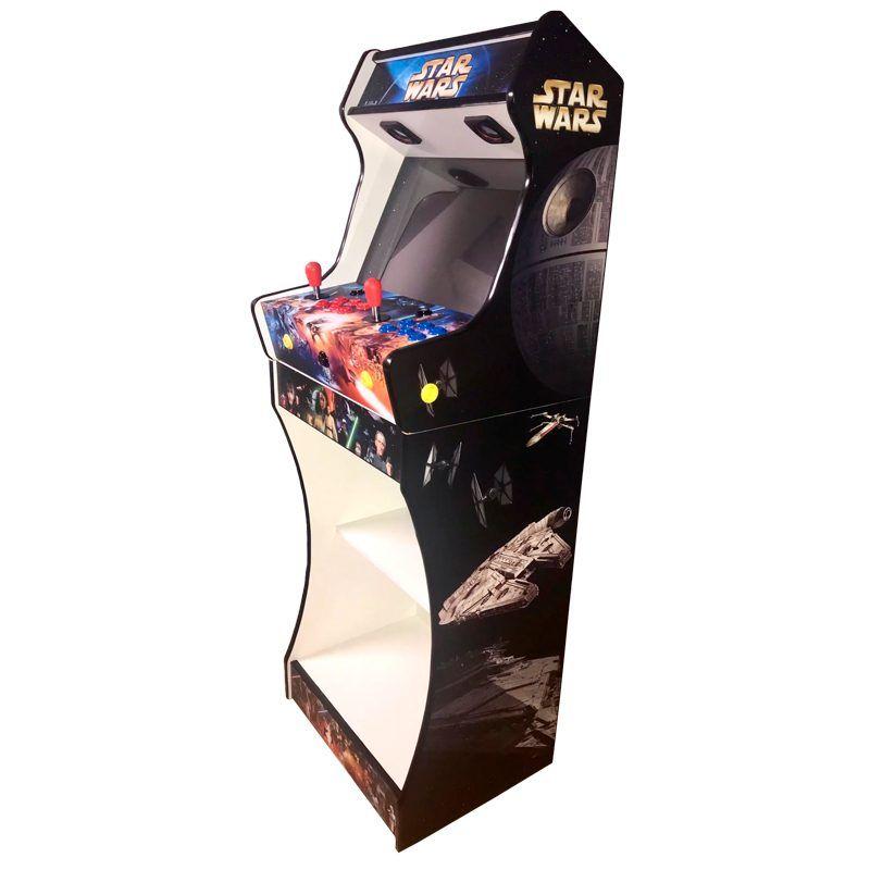 vinilos-star-wars-máquina-arcade-bartop