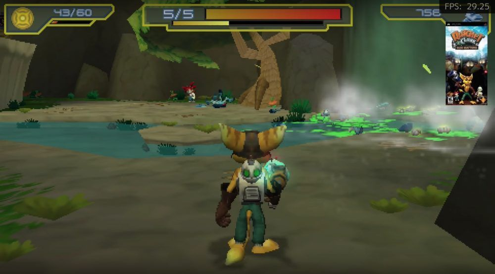 Test emulación Ratchet and Clank size matters Raspberry Pi 4