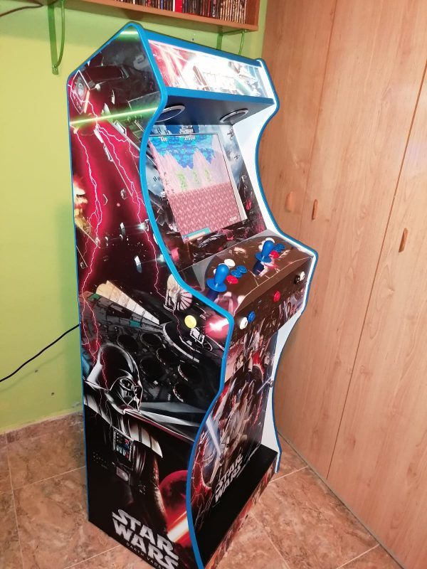 Máquina arcade bartop king star wars ultimate