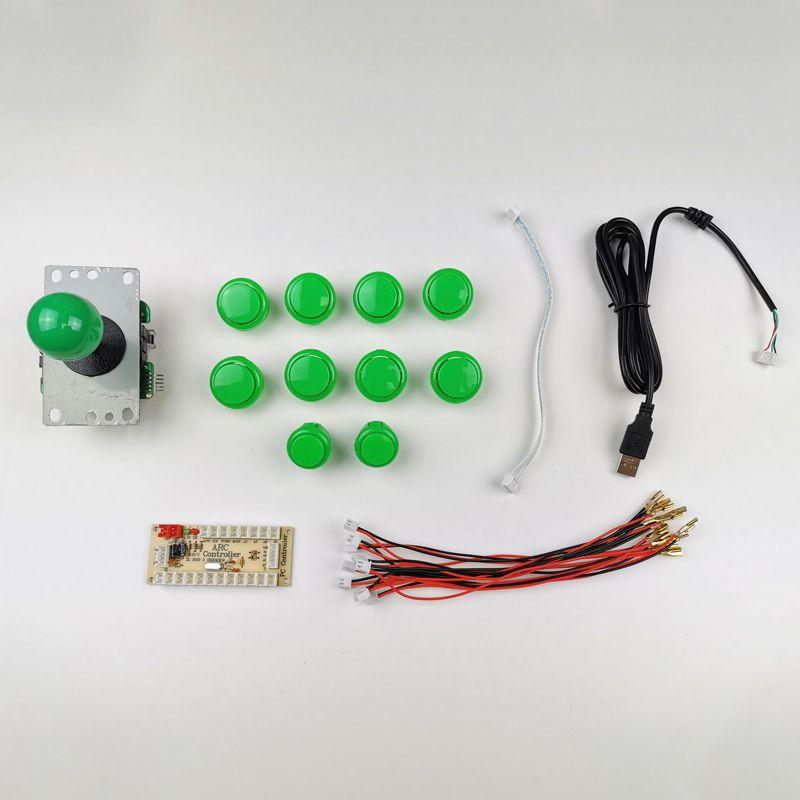 kit-joystick-botones-estilo-sanwa-verde