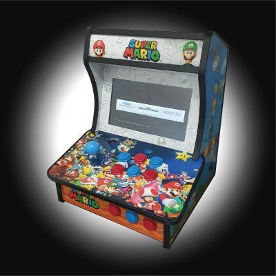 Bartop pocket super mario de Andrea