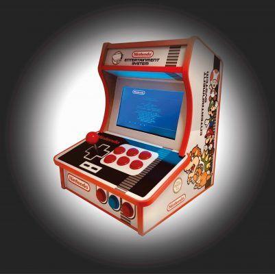 Side pocket bartop NES Remix of Andrea